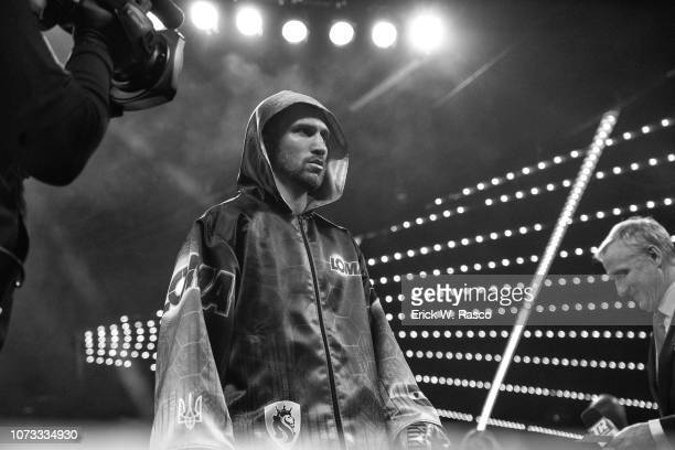 WBA / WBO Lightweight Title Vasiliy Lomachenko entering ring before fight vs Jose Pedraza at Hulu Theater at Madison Square Garden New York NY CREDIT...