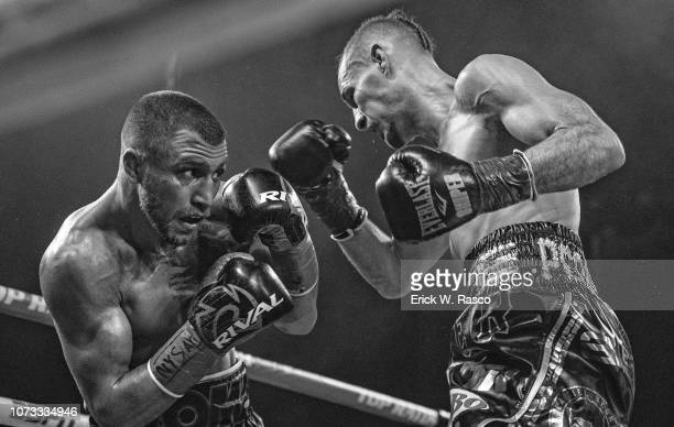 WBA / WBO Lightweight Title Vasiliy Lomachenko in action vs Jose Pedraza at Hulu Theater at Madison Square Garden New York NY CREDIT Erick W Rasco