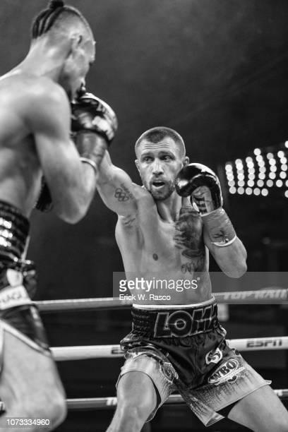 WBA / WBO Lightweight Title Vasiliy Lomachenko in action vs Jose Pedraza at Hulu Theater at Madison Square Garden New York NY CREDIT Erick W Rasco