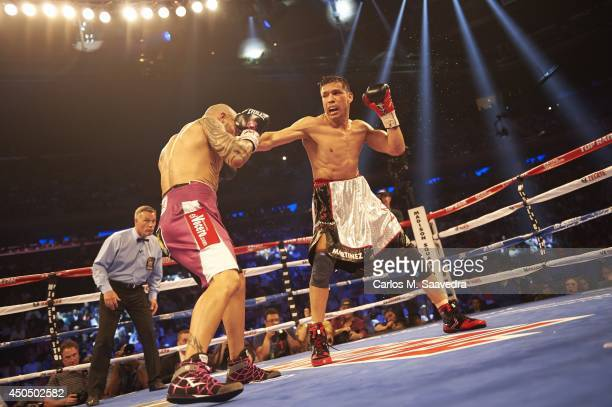 WBC Middleweight Title Sergio Martinez in action vs Miguel Cotto at Madison Square Garden New York NY CREDIT Carlos M Saavedra