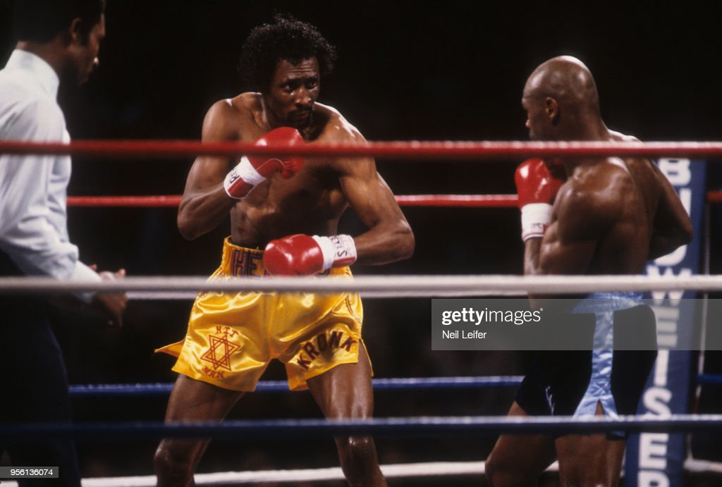 Marvelous Marvin Hagler Vs Thomas Hearns 1985 Wbc Wba Ibf World Middleweight Title Pictures