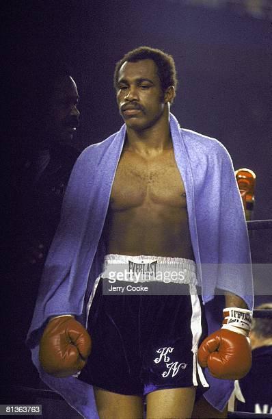 Boxing WBC/WBA Heavyweight Title Ken Norton before fight vs Muhammad Ali at Yankee Stadium Bronx NY 9/28/1976
