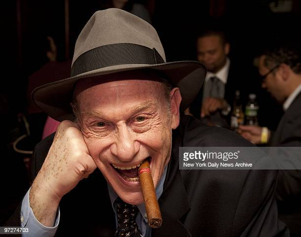Boxing writer Bert Randolph Sugar at the 2009 New York Daily News Golden Gloves opening night at BB King Blues Club in Manhattan