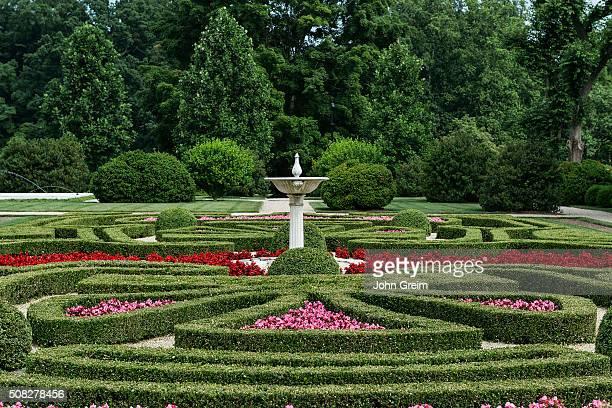 Boxwood Garden Nemours Mansion and Gardens