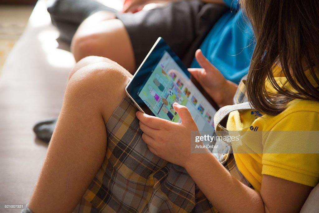 Mobile TV Watching : News Photo