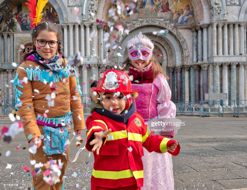 General Views - Venice Carnival 2018 : News Photo