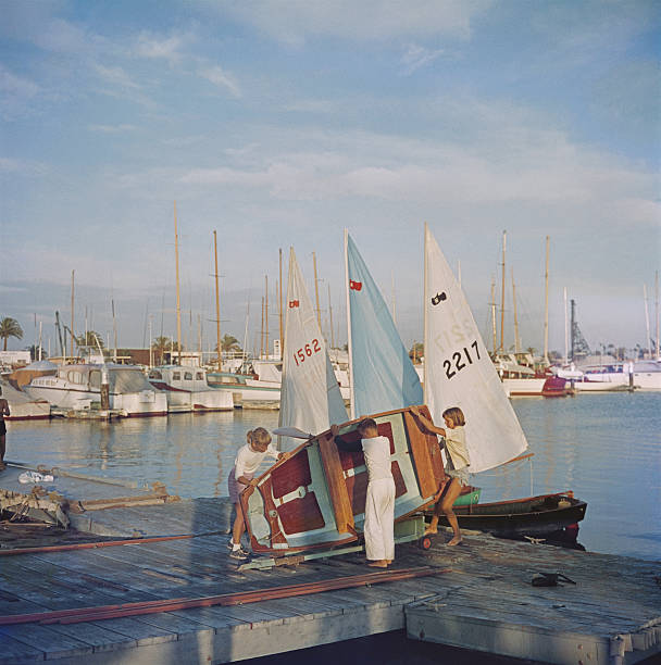 Sailing Dinghy Wall Art