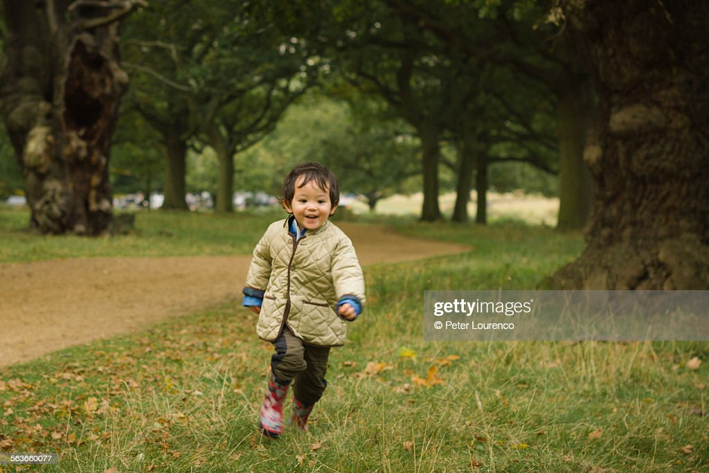 Boy at the park : Stock-Foto