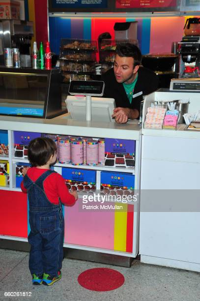Boy attends ASSOCIATION to BENEFIT CHILDREN hosts COCKTAILS IN CANDYLAND at Dylan's Candy Bar on June 18 2009 in New York City