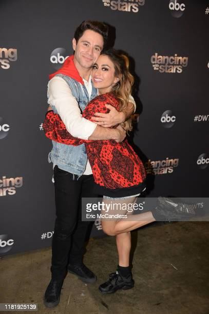 """Boy Band & Girl Group Night"""" - Six celebrity and pro-dancer couples return to the ballroom to compete on the ninth week of the 2019 season of..."""