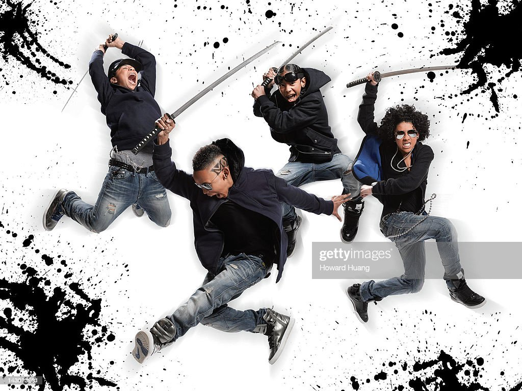 Boy Band Mindless Behavior Photographed In March 2011 For Word Up New York City