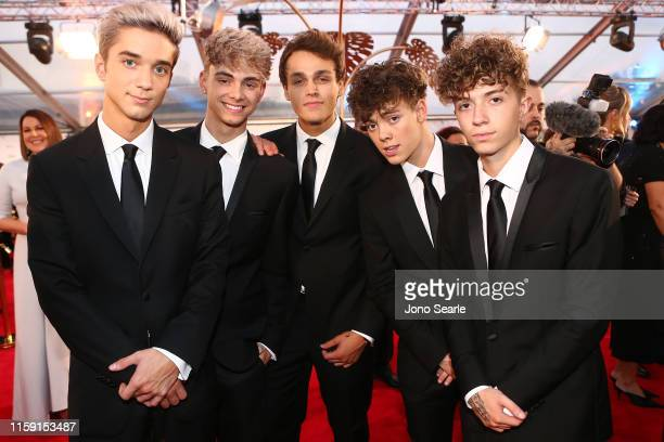 Boy band Why Don't We arrives at the 61st Annual TV WEEK Logie Awards at The Star Gold Coast on June 30 2019 on the Gold Coast Australia