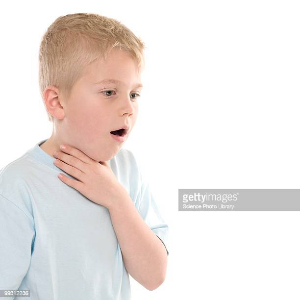 Boy choking