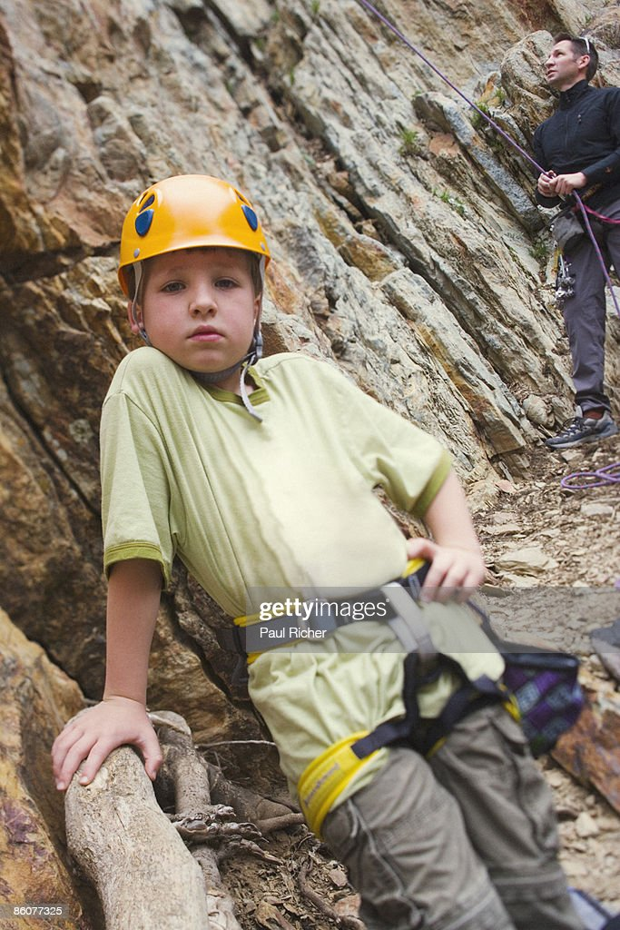 Boy With Arms Raised Begging High-Res Stock Photo - Getty
