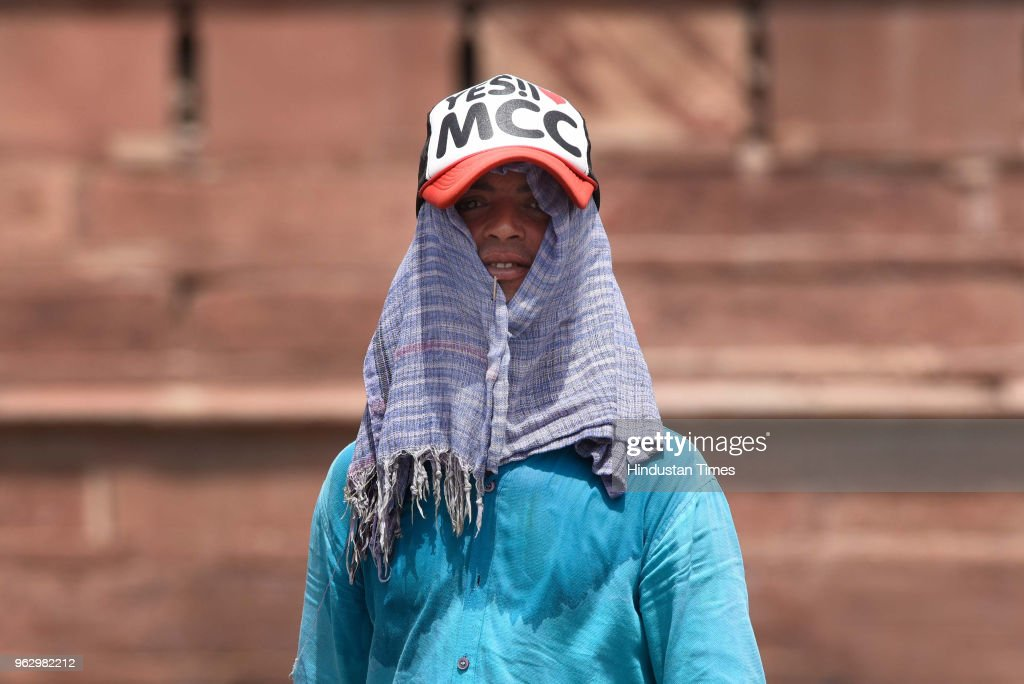 Delhi Continues To Reel Under Heat Wave, Mercury Soars To 45 Degrees