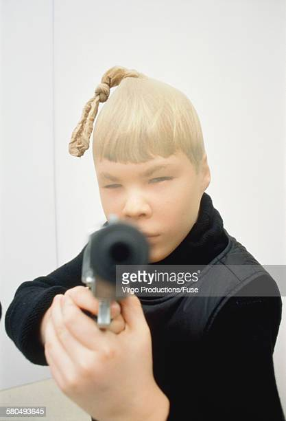 boy dressed up as bank robber - boys wearing tights stock photos and pictures