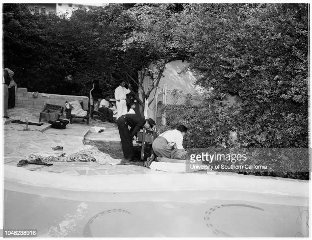 Boy drowned 15 May 1952 Kenneth Stolo 6 years 5226 College View DriveMr and Mrs Nick Stolo Mrs Opal CaputAlice CaputPool where he drowned on grounds...