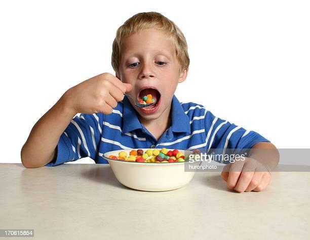 boy eating cereal 2