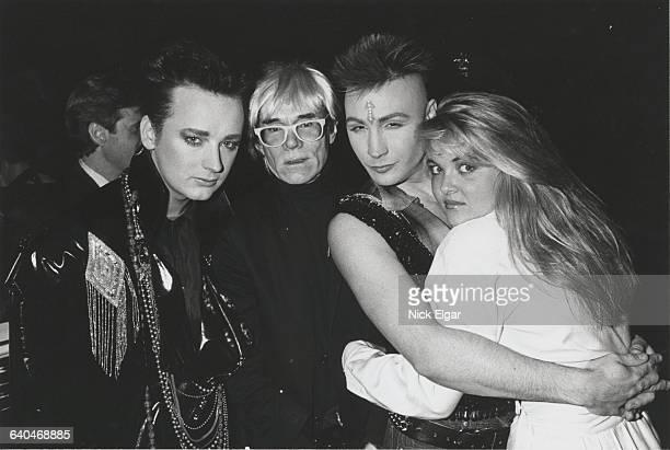 1985 Boy George Andy Warhol Cornelia Guest