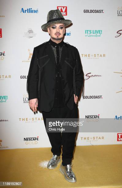 Boy George arrives at the 61st Annual TV WEEK Logie Awards at The Star Gold Coast on June 30 2019 on the Gold Coast Australia