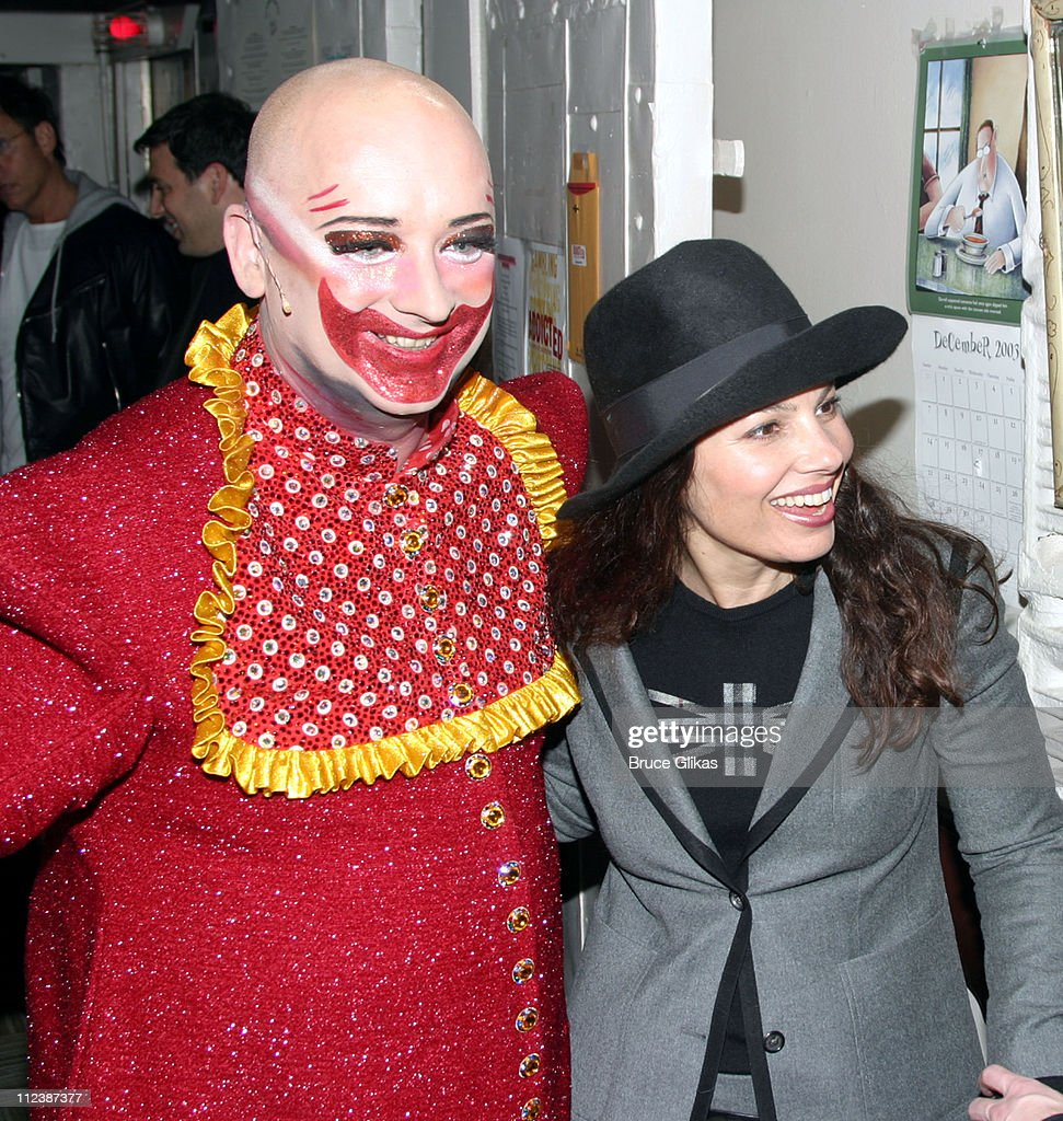 boy george as 'leigh bowery' and fran drescher *exclusive* news
