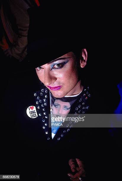 Boy George at World DJ Day Fabric London March 2002.