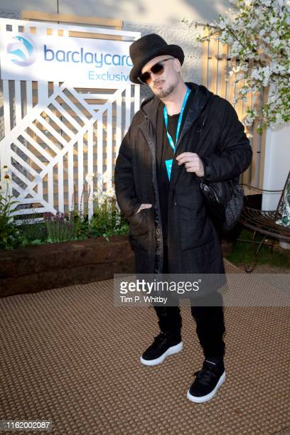 Boy George attends the Barclaycard Exclusive Area at Barclaycard Presents British Summer Time Hyde Park at Hyde Park on July 14 2019 in London England
