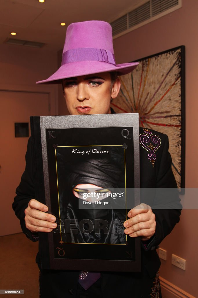 Boy George Launches His New Book 'King Of Queens'