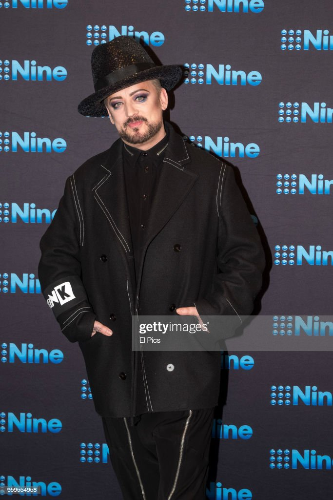 Boy George attends the Nine All Stars Event on May 16, 2018 in Sydney, Australia.