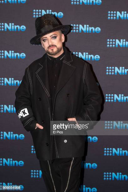 Boy George attends the Nine All Stars Event on May 16 2018 in Sydney Australia