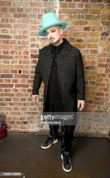 Boy George attends the SeriousFun London Gala 2018 at The Roundhouse on November 6 2018 in London England