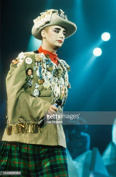 Boy George Diamond Awards Festival Sportpaleis Antwerp Belgium 28th November 1987