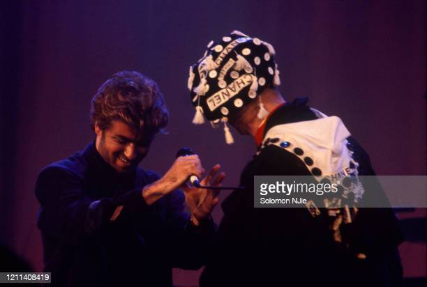 Boy George, George Michael, Stand By Me: AIDS Day Benefit, Wembley Arena 3 April 1987 .