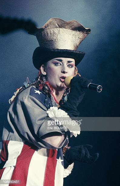 Boy George in Paris France on October 25th 1983