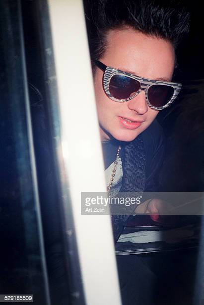 Boy George in sunglasses circa 1990 New York