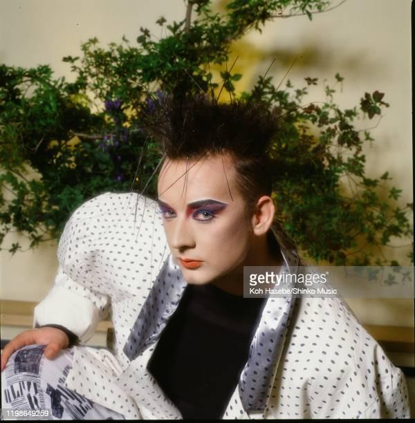Boy George of Culture Club in Tokyo, Japan, circa August 1985.