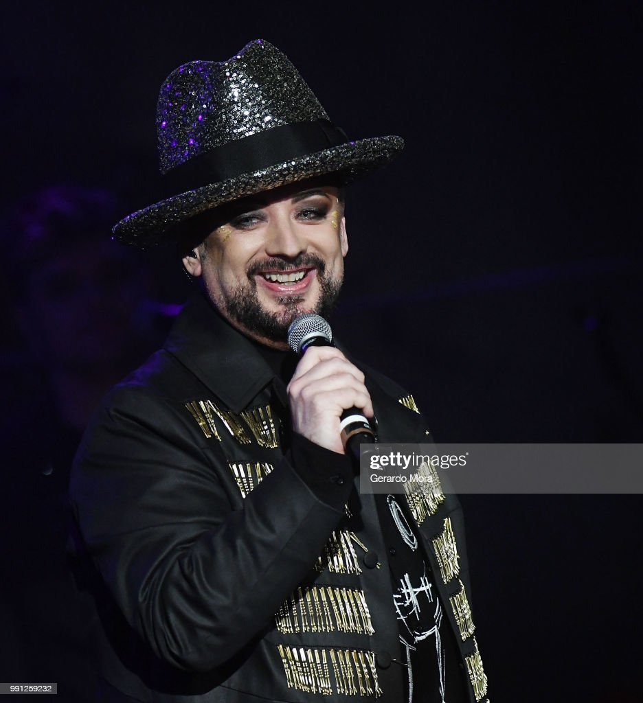 Boy George of Culture Club performs at House of Blues Orlando on July 3, 2018 in Orlando, Florida.