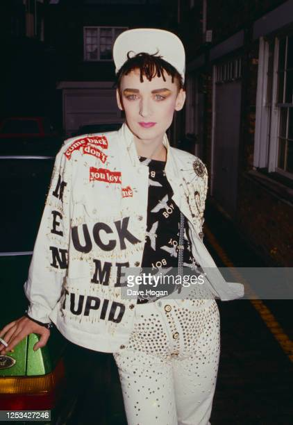 Boy George of new romantic pop group Culture Club on June 10, 1986