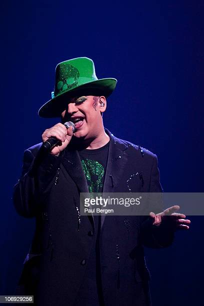 Boy George performs on Night of the Proms at Gelredome on November 13 2010 in Arnhem Netherlands