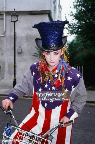 Boy George taken on the street in London December 1973 London United Kingdom