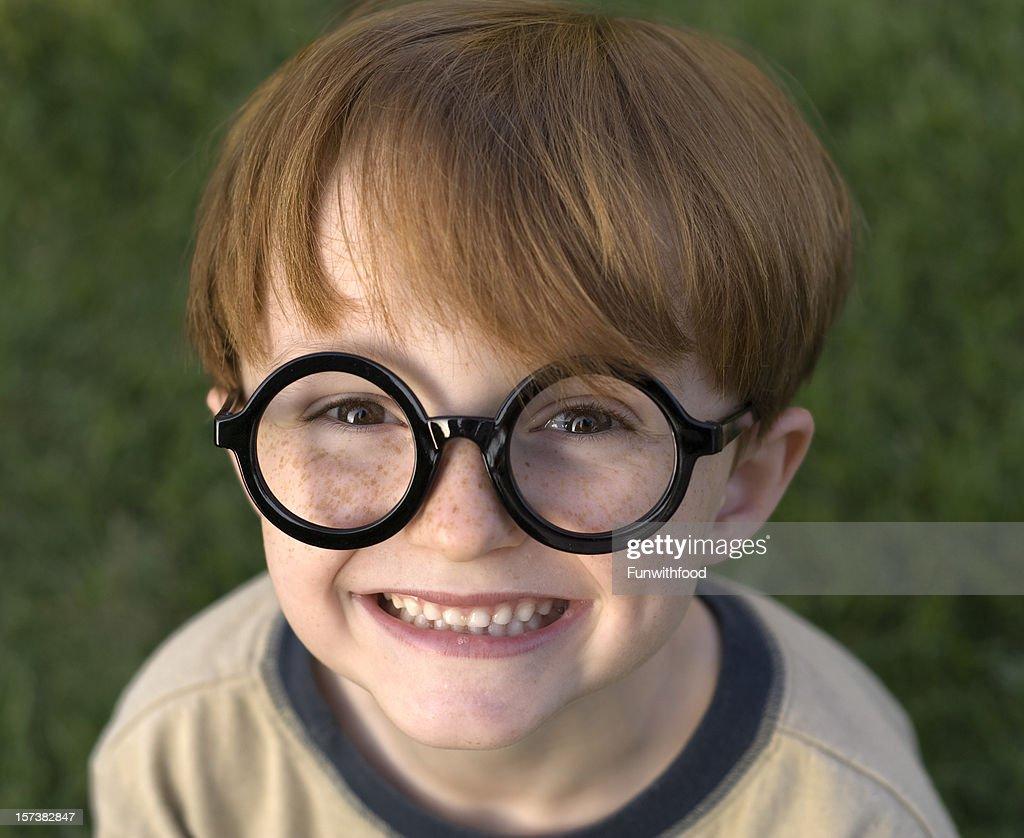 Boy Harry Potter Child Wearing Black Glasses Halloween Costume u0026 Eyeglasses  Stock Photo  sc 1 st  Getty Images & Boy Harry Potter Child Wearing Black Glasses Halloween Costume ...