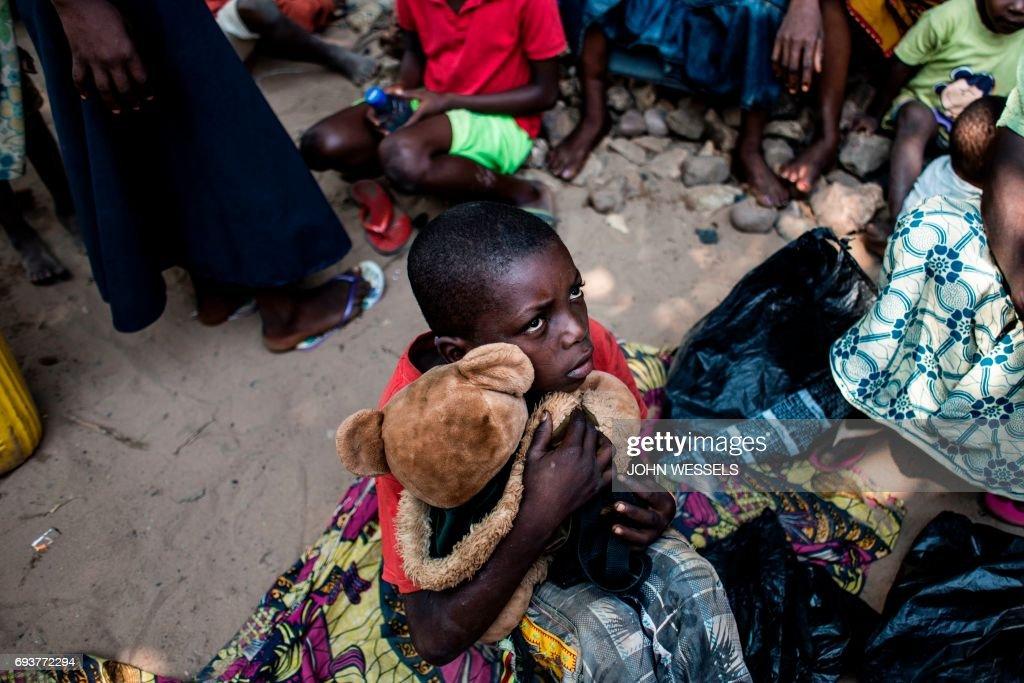 DRCONGO-IDP-CAMP-CONFLICT : News Photo