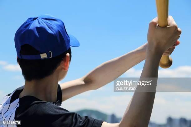 boy image of baseball