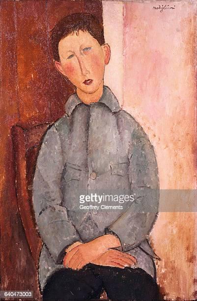 Boy in a Blue Shirt by Amedeo Modigliani