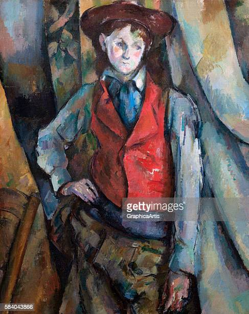 Boy in a Red Waistcoat 188890 From the National Gallery of Art Washington DC Oil on canvas