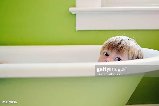 Boy in bath (4-5 years)
