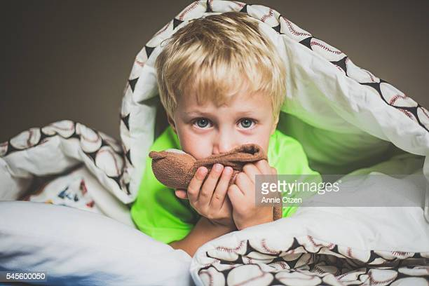 Boy In Bed