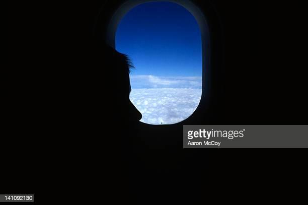 Boy in flight