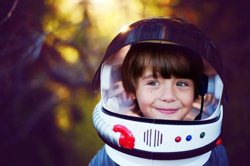 Boy in helmet - gettyimageskorea