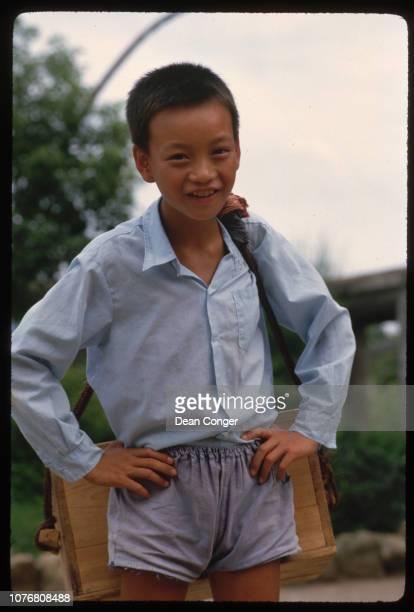 Boy in Jiangsu Province China